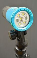 V11 latarka foto/video 2400lm