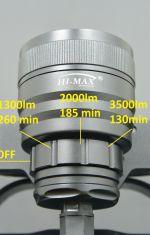 H01 SLIM HI-MAX, 3500lm (sama latarka)