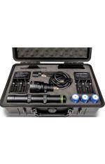 H01 SLIM Zestaw HI-MAX, 3500lm (2 ładowarki i 3 akumulatorki 26650)