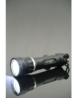 X8 latarka HI-MAX foto/video, 860lm, latarka nurkowa