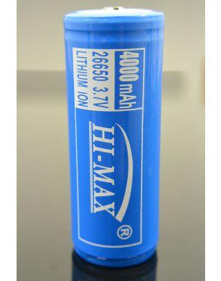 akumulator 26650, 4000mAh, PCB/PCM HI-MAX, Gwarancja 6 miesięcy.
