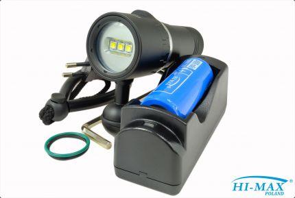 V16 Seahorse latarka foto/video 2000lm