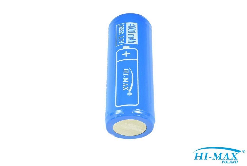akumulator HI-MAX 26650, 4000mAh, PCB/PCM