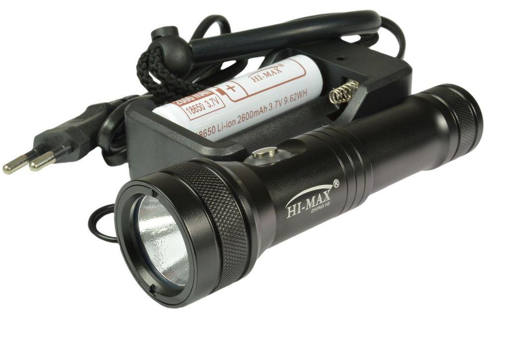 H5 BLACK zestaw HI-MAX, 1100lm