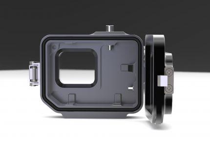 Classic V2 - obudowa aluminiowa dla kamer GoPro 5,6,7 BLACK