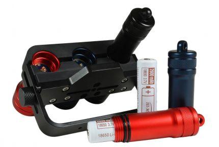L3H5 Speleo, zestaw HI-MAX, 3 x 1100lm